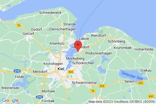 Karte Heikendorf