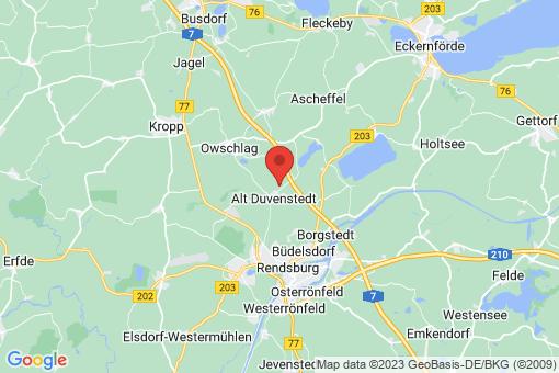 Karte Alt Duvenstedt
