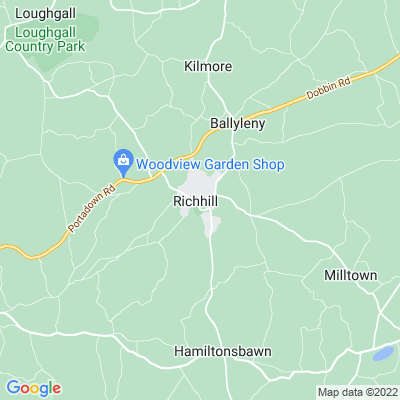 Rich Hill House Location