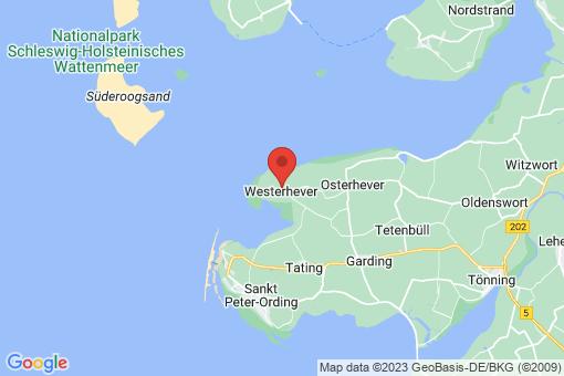 Karte Westerhever