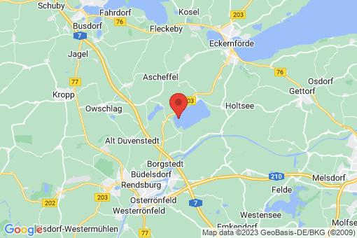Karte Klein Wittensee