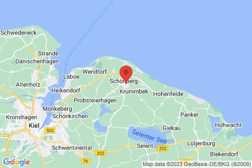 Karte Schönberg (Holstein)