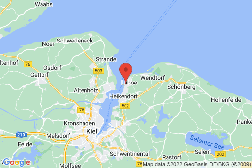 Karte Laboe