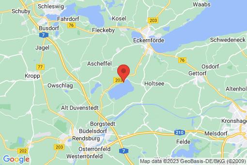 Karte Groß Wittensee