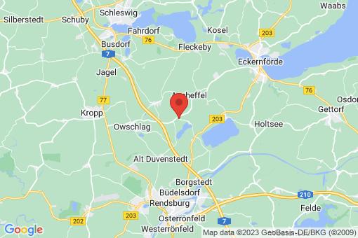 Karte Ahlefeld