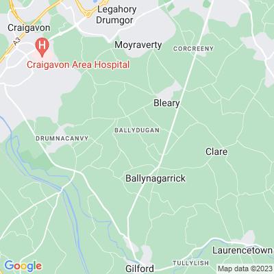 Hollymount, Gilford Location