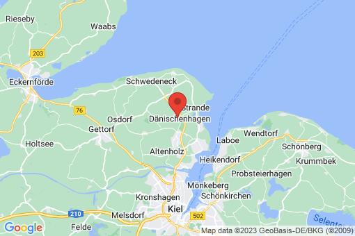 Karte Dänischenhagen