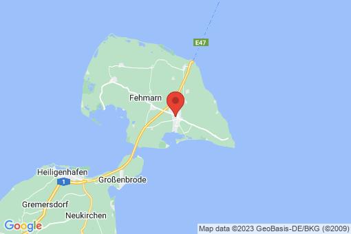 Karte Fehmarn