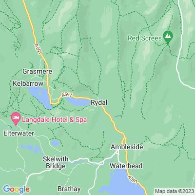 Rydal Mount Location