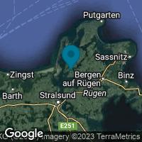 Lagekarte von Gingst auf Rügen