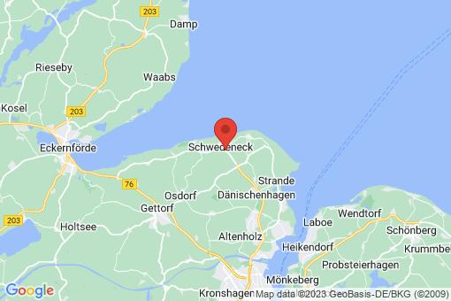 Karte Schwedeneck