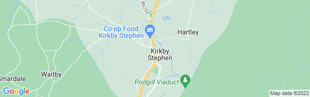 Map Of Kirkby Stephen
