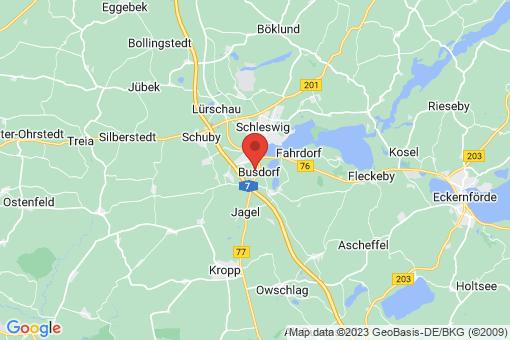 Karte Busdorf