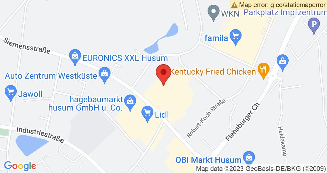 Google Map Sporthaus Husum e.K.