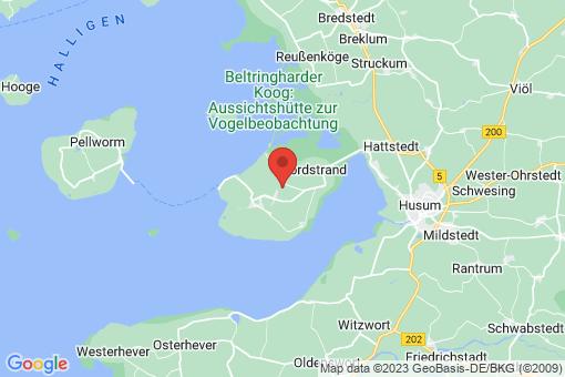 Karte Nordstrand
