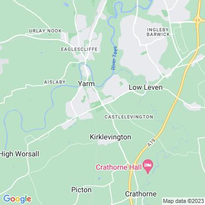 Healaugh Park and Manor Location