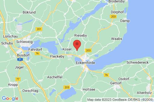 Karte Gammelby