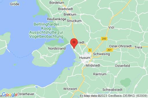 Karte Schobüll