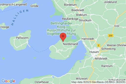 Karte Elisabeth-Sophien-Koog