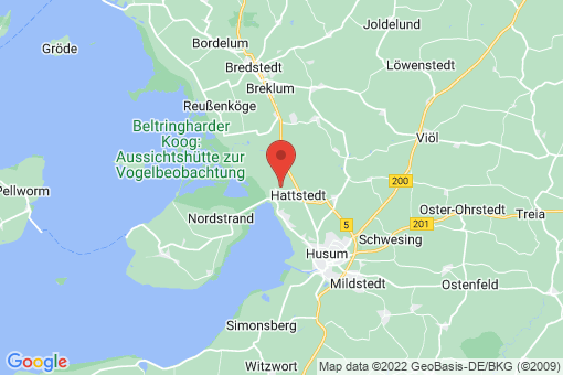 Karte Wobbenbüll