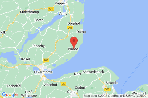 Karte Waabs