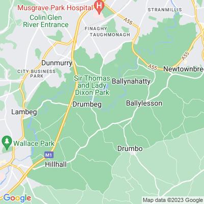Wheatfield, Antrim Location