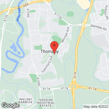 Map of wilko Thornaby at 12 Vale House, Stockton On Tees,  TS17 9FD
