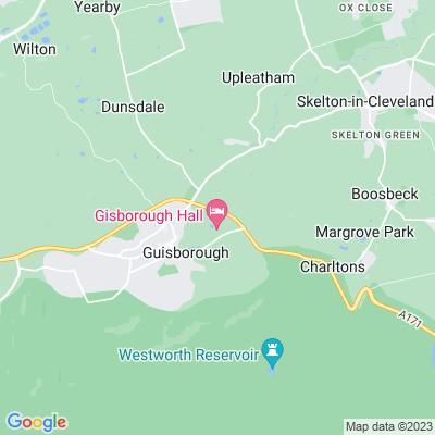 Gisborough Priory Gardens Location