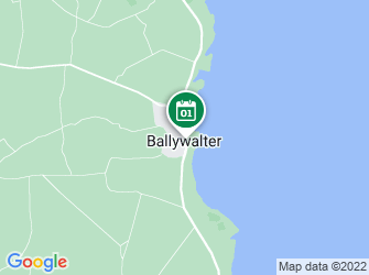 A static map of Easter Egg Case Trail - Ballywalter Beach