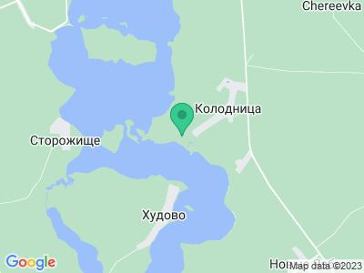 Карта Кемпинг на озере Селява