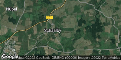 Google Map of Schaalby