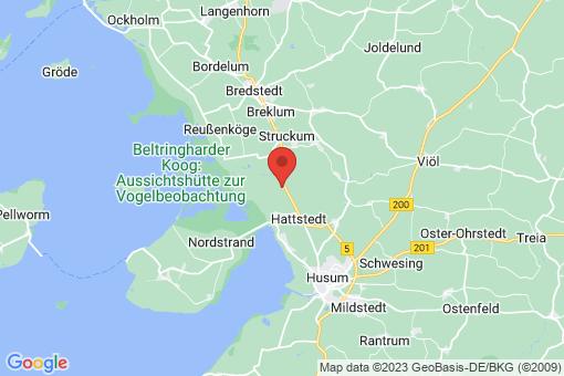 Karte Hattstedtermarsch