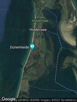 Google Map of Insel Hiddensee
