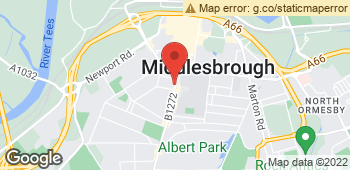 Map of Agness Marshall at 197 Linthorpe Road, Middlesbrough, Cleveland TS1 4AG