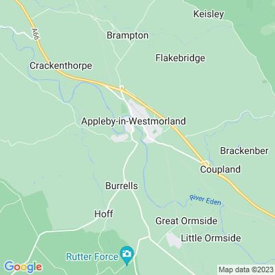 Appleby Castle Location