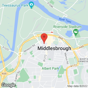 Map of wilko Middlesbrough at 17 Captain Cook Square, Middlesbrough,  TS1 5UB