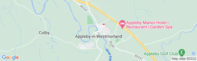 Map Of Appleby-in-Westmorland