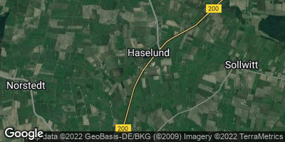 Google Map of Haselund
