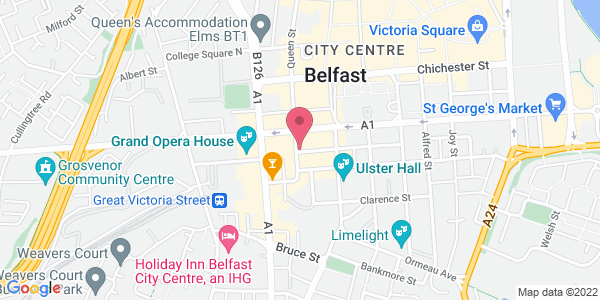 Get directions to James St. Restaurant Belfast