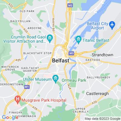 Orangefield, Belfast Location