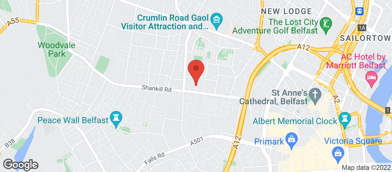 Shankill Leisure Centre location and directions