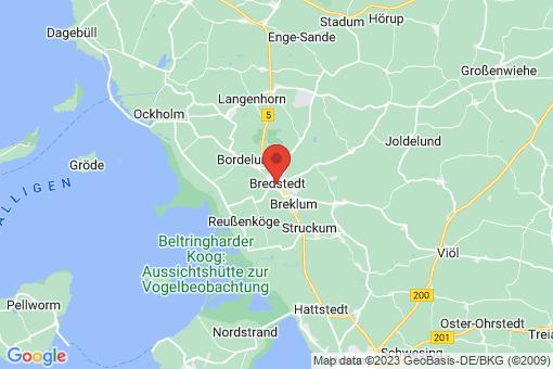 Karte Bredstedt