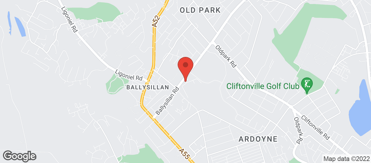 Ballysillan Leisure Centre location and directions