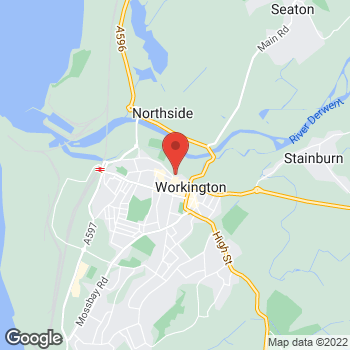 Map of wilko Workington at Ladies Walk, Workington,  CA14 4AF