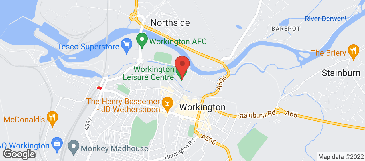 Workington Leisure Centre location and directions