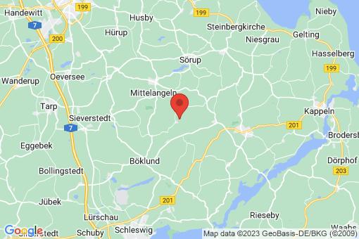 Karte Schnarup-Thumby