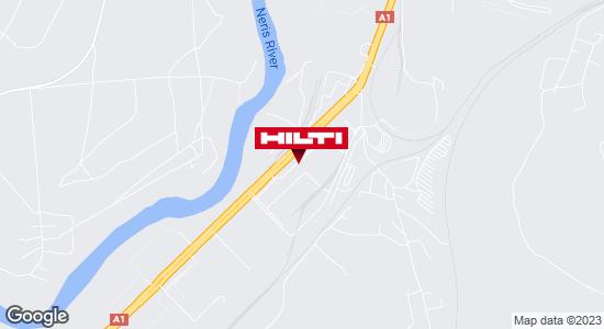 Get directions to Hilti parduotuvė Lietuva