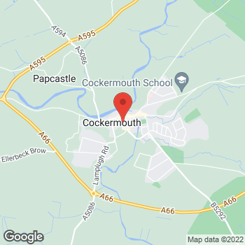 Map of wilko Cockermouth at The Lowther Went Shopping Ctr, Cockermouth,  CA13 9RT