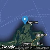 Lagekarte von Dranske auf Rügen