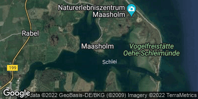 Google Map of Maasholm